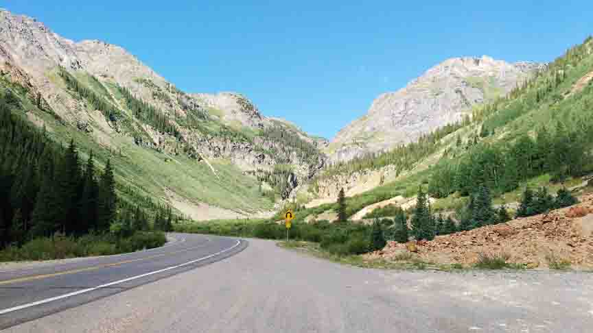 Hwy 550 to Ouray