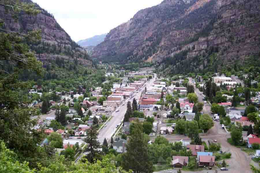 Ouray town