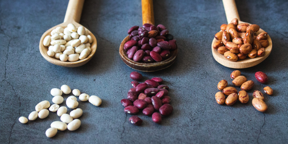 Being prepared with dried beans